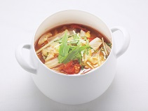 トマトポムケチャップ鍋